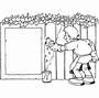 Schilder met tuinschutting
