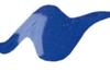 Tulip 3D textielverf Royal Blue