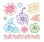 Clear Stamps Bloemen
