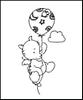 Clear stempel Smookie Ballon