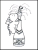Clear stempel Smookie Champagne