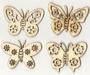 Vlinders.   per setje
