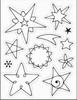 Christmas sterren   per stuk