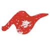 Tulip Sparkles. 3D textielverf Red Hot