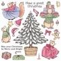 Cute Companions Christmas Joy   per vel