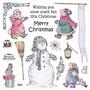 Cute Companions Christmas Delight   per vel