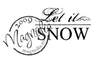 Let it snow  tekst   per stuk