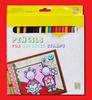 Kleurpotloden 24 stuks van Coloursoft   per set