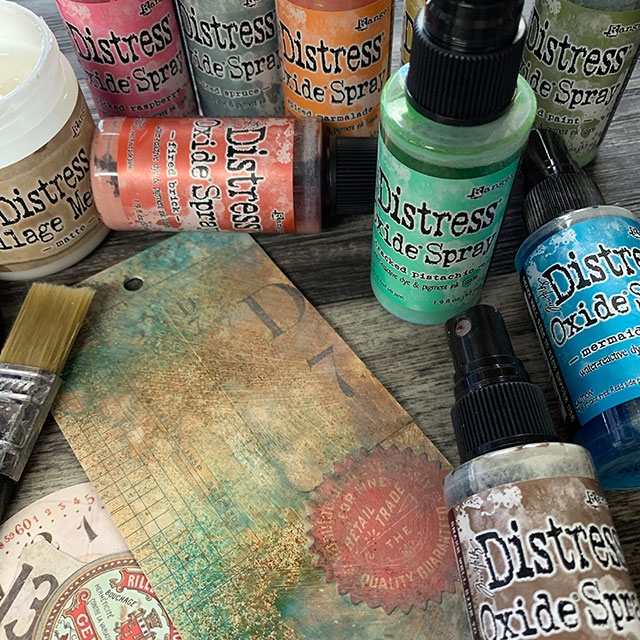 Distress Oxide Sprays