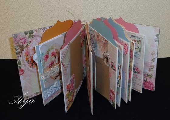 Miniboekjes (om zelf te maken)+ materiaal