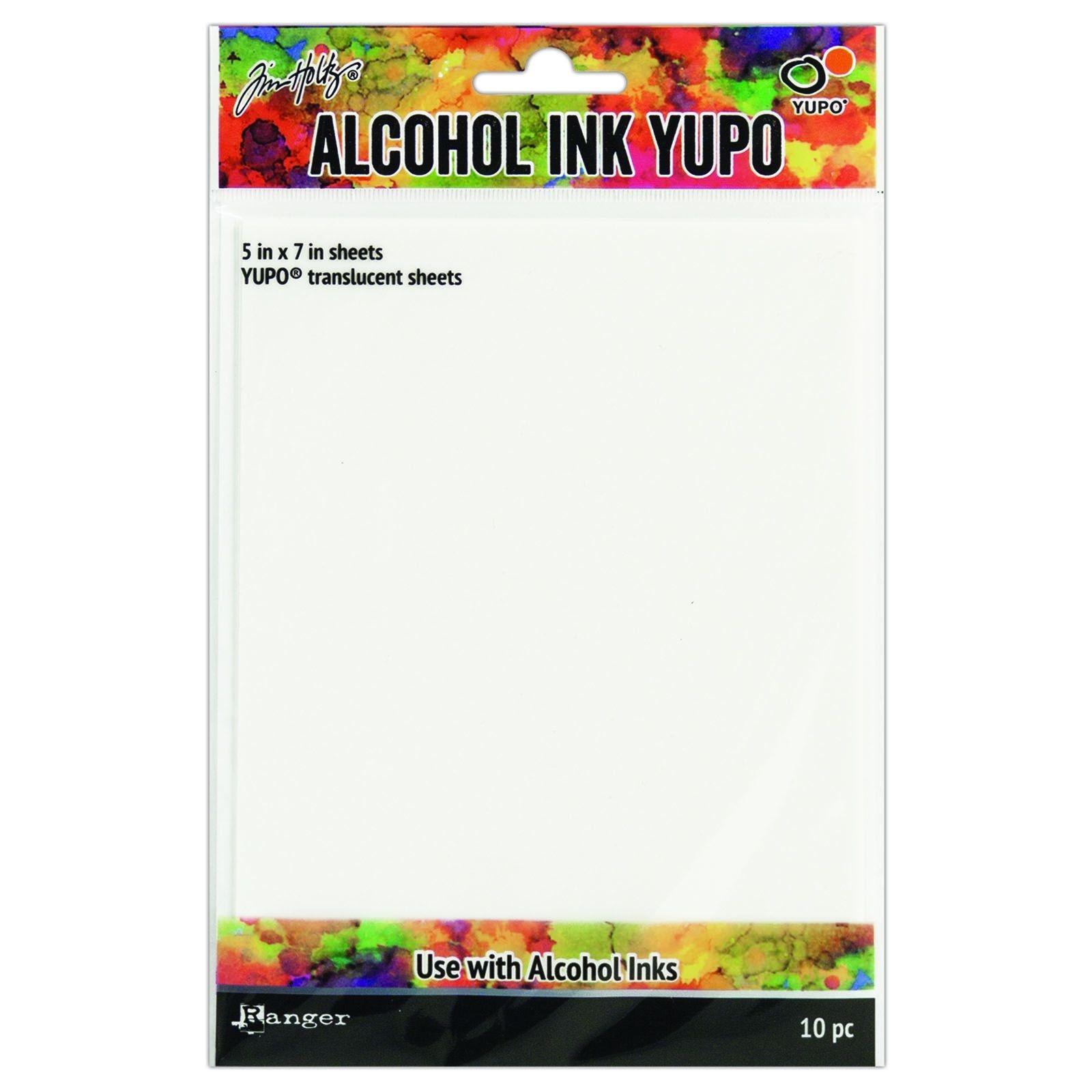 Papier speciaal voor werken met Alcohol Inkt